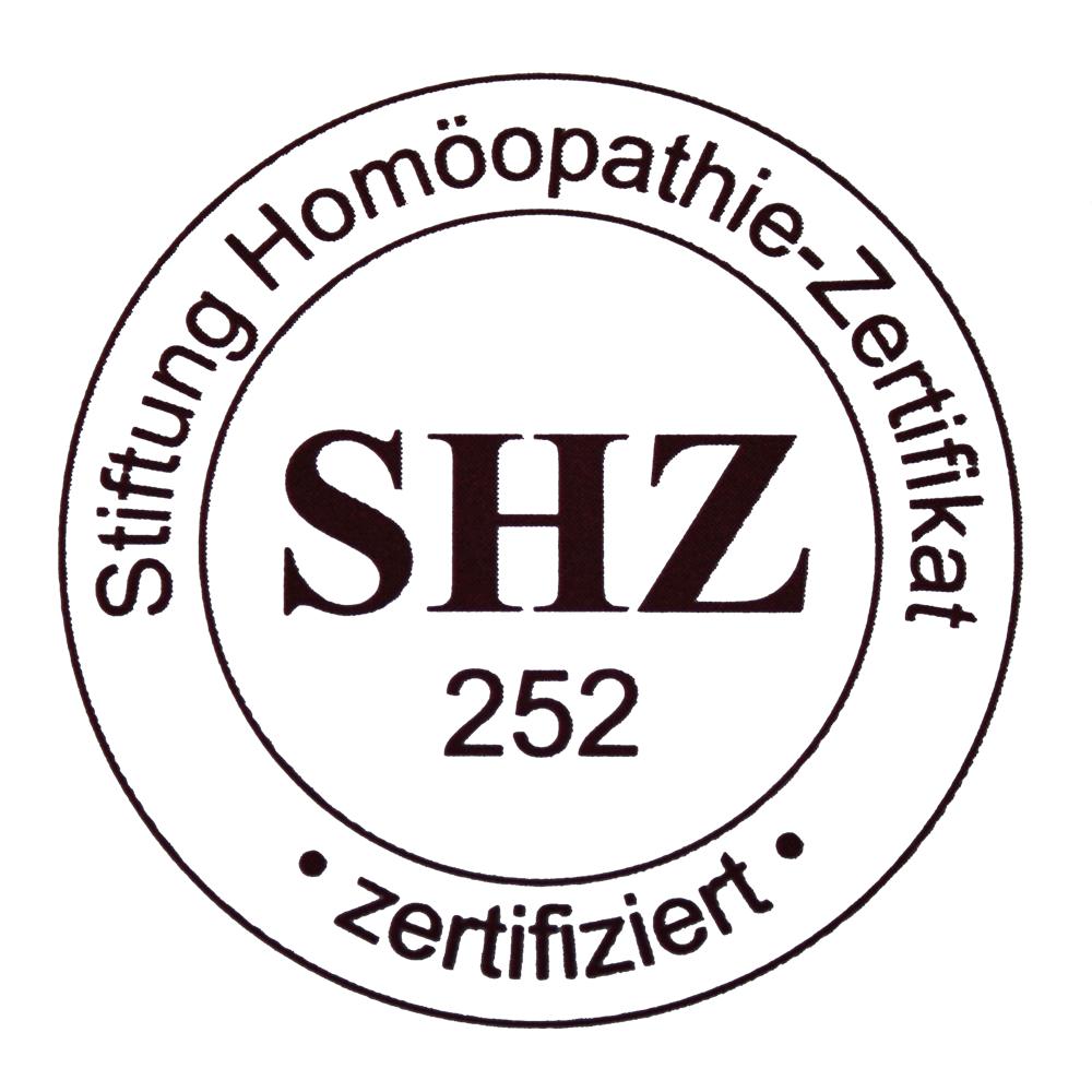 Zertifikat Homöopathie